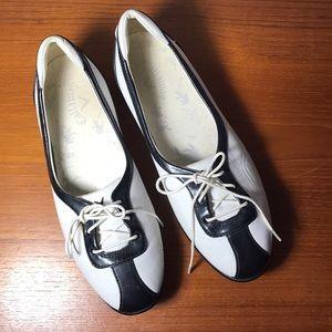 Callaway Golf Womens half shoes white black 6.5